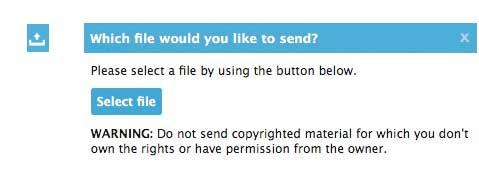 send file