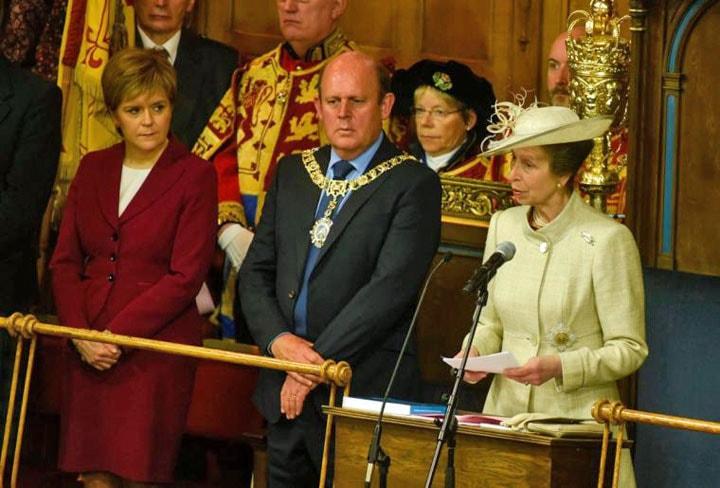Princess Anne Scotland